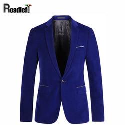 Male one button royal blue velvet slim fit blazer mens prom stage wedding suits men business.jpg 250x250