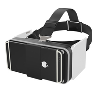 VR Box Headsets VR Glasses Foldable Virtual Reality 3D Glasses Googles Cardboard For Smartphone 4 7