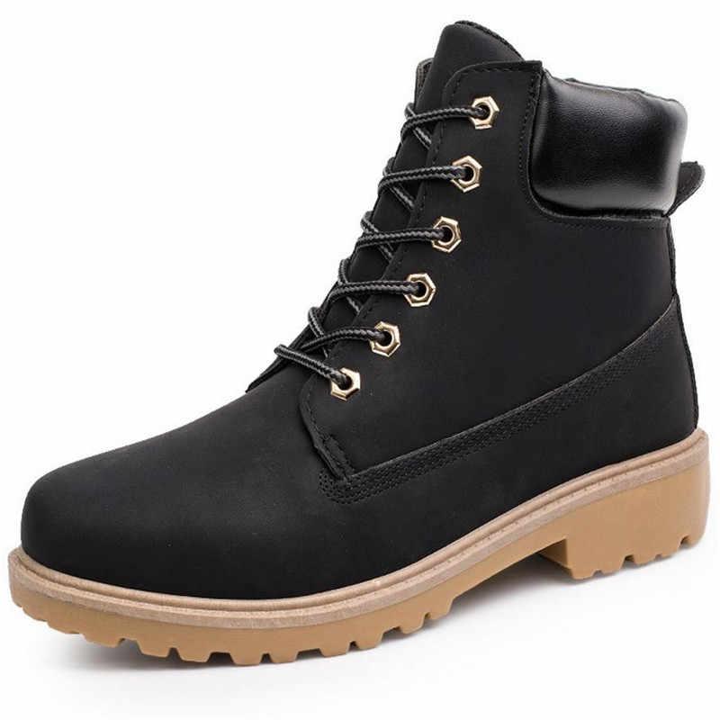 ... 2017 Для мужчин сапоги Модные ботинки martin снегоступы Открытый  Повседневное дешевые ботинки timber Lover осень- ... 61231bf678b