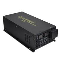 6000W Pure Sine Wave Solar Inverter 24V 220V Wind Power Inverter 12V/36V/48V/72V/96V/110V DC to 120V/230V/240V AC Remote Control