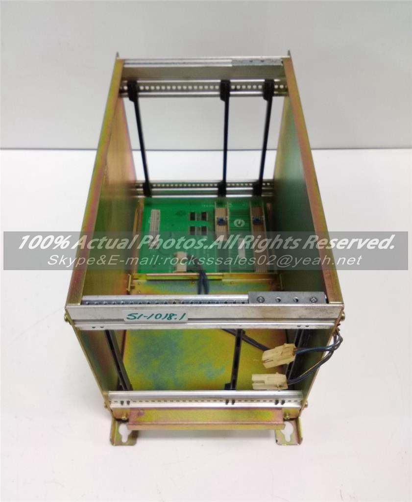 YASKAWA ROBOTIC CONTROLLER RACK Used in good condition With Free DHL /EMS dhl ems 1pcs original for yaskawa a1000 inverter cimr ab4a0031faa