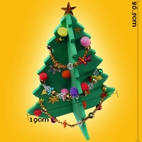 26cm DIY Christmas Tree For Table Decoration Mini Table S XMAS Trees Ornament For X Mas