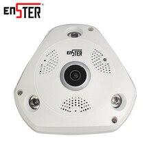Enster 1.3 MP беспроводной ip-камера 960 P HD монитор baby камеры видеонаблюдения 360 градусов VR wi-fi камеры безопасности спикер