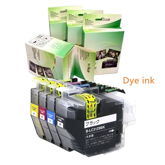Dye ink for Brother LC3219 LC3219XL (LC3217) ink cartridge for Brother MFC-J5330DW MFC-J5335DW MFC-J5730DW MFC-J5930DW free shipping for brother lc985 ink cartridge for brother mfc 415w ink jet printer