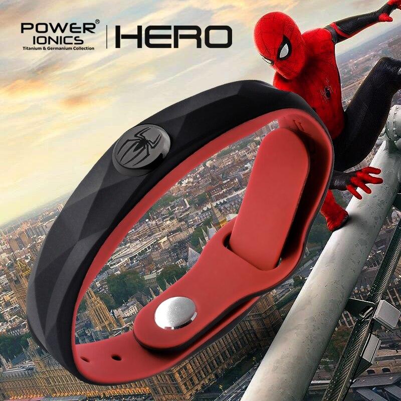 Teljesítmény Ionics Super Hero Series 3000 ionok Sport titán divat - Divatékszer - Fénykép 5