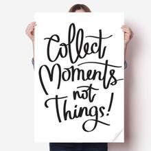 Diythinker коллекция моментов не вещей цитата Виниловая наклейка