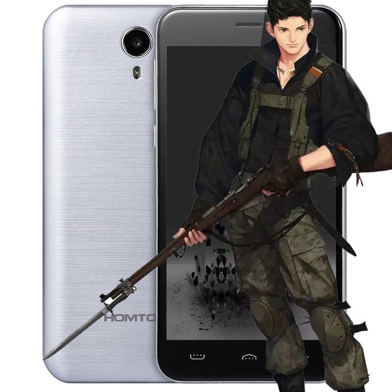 HOMTOM HT3 5.0 pollice Android 5.1 3G GPS WiFi Smartphone MTK6580 Quad Core 1.3 GHz 2.5D HD Dello Schermo 1 GB RAM 8 GB ROM Dual telecamere