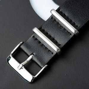 Image 5 - ボボ鳥黒檀腕時計メンズ時計レザーストラップクォーツ腕時計レロジオ masculino 男性のギフト受け入れるロゴドロップシッピング