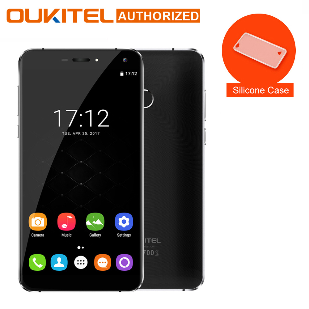 Oukitel U11 Plus Android 7.0 Moblie <font><b>Phone</b></font> 5.7&#8243; FHD Octa Core 4GB RAM 64GB ROM MTK6750T 13.0MP 3700mAh Fingerprint Cellphone