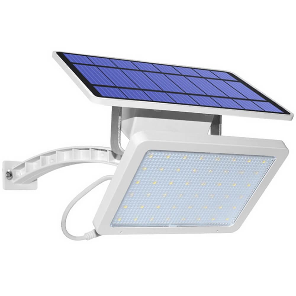 New Solar Solar Wall Light Outdoor Garden Waterproof Street Flood Light Solar Panel 48 LEDS Spotlights