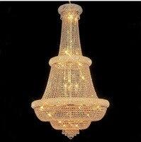 Gold Crystal Pendant Light Lighting Modern Chrome Crystal Pendant Lights Fixture Width 76cm And 91cm Free
