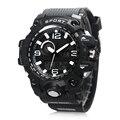 Amuda marca men sports relógios display led analógico digital led relógio eletrônico de quartzo wristatches 50 m à prova d' água de natação