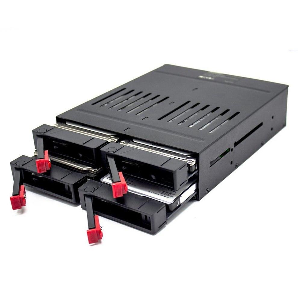 Unterhaltungselektronik Oimaster Vier 2,5 Zoll Slots Sata Interne Rack Festplatte Fall Interne Mobile Rack Mit Led-anzeige Kapazität Expansion