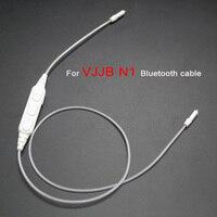 Mis à jour Remplacement Bluetooth Câble pour VJJB N1 Écouteur Câbles Adaptateur Récepteur Cordon avec Micro pour xiaomi iphone mp3