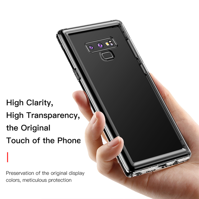 Military Level Thin Clear Protective Silicone Case – Samsung