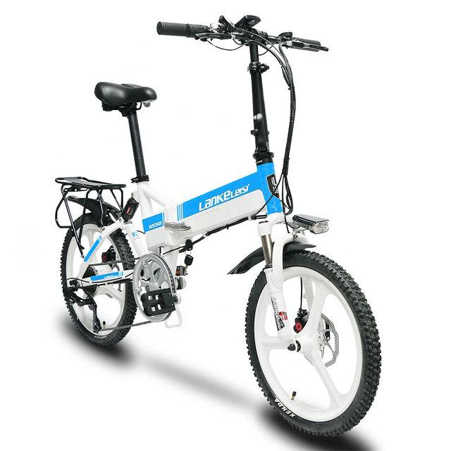 Cyrusher G550 240 W 48 V Мотор электронной велосипед 7 скоростей механические дисковые тормоза складной велосипед smart спидометр