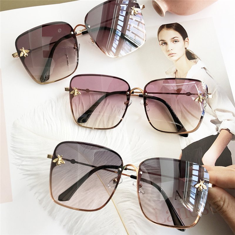 Kinglly Oversized Modern Hipster Square Sunglasses Womens Fashion Shades