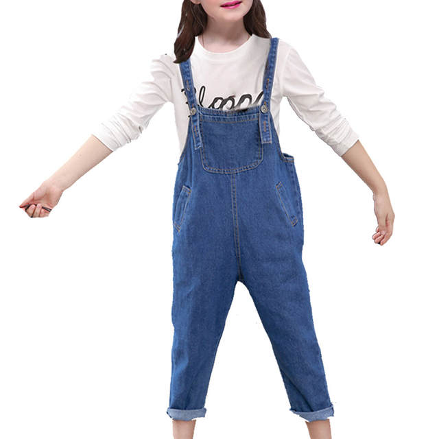 661d27a9c5c2 placeholder DIDIOO Baby Girls Jeans for Kids Denim Overalls 2018 New  Arrival Simple Casual Jeans Pants Fashion