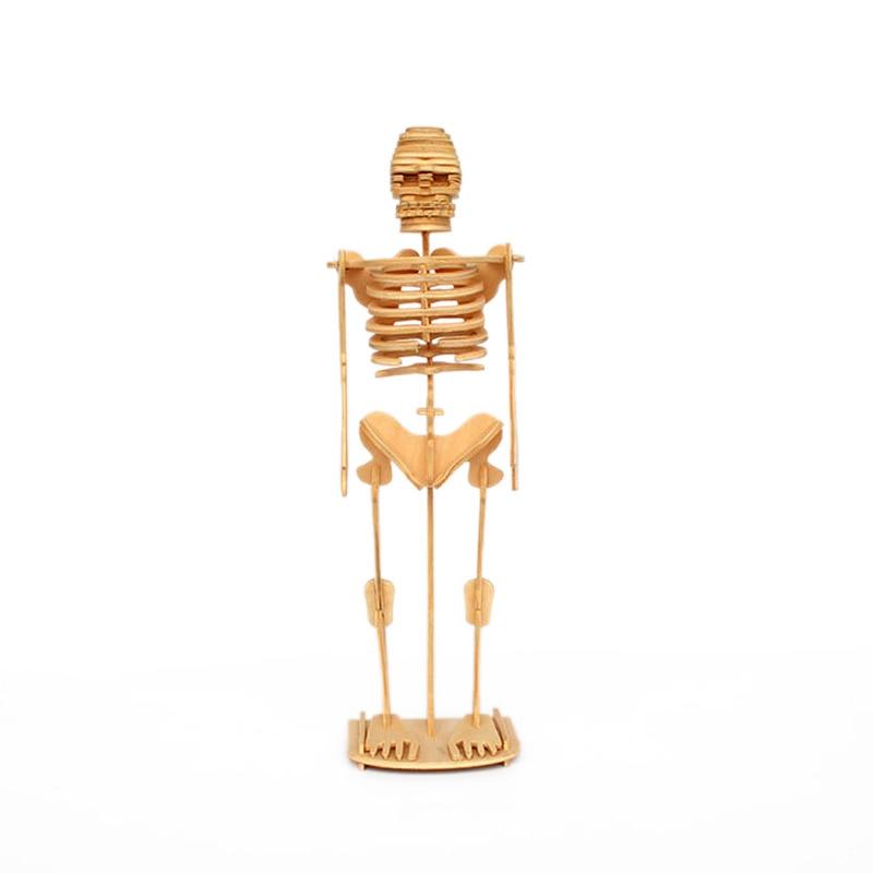 Artificial Skeleton Wooden Mannequin Toys 3d Human Body Model