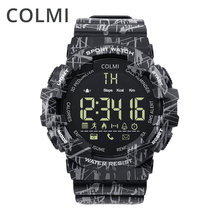 COLMI EX16C Camo Smartwatch 5 ATM Waterproof Activity Tracker Steps Calories Distance Smart Watch Standby 12 Months(China)