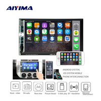 AIYIMA 7 2 Din Bluetooth Video Universal MP5 Player Touch Screen HD Digital Display AUX FM Radio MP3 MP4 Music Player For Auto