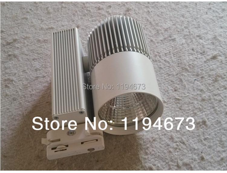 ФОТО Free shipping COB 30w warm white/cool white High Quality led tracking light AC85~265V CE&ROHS