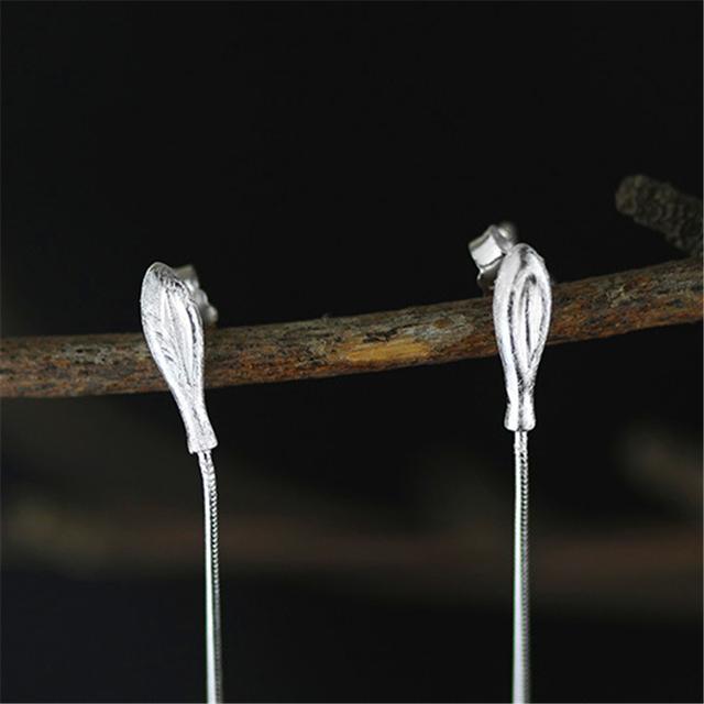 Elegant Long Dangle Earrings