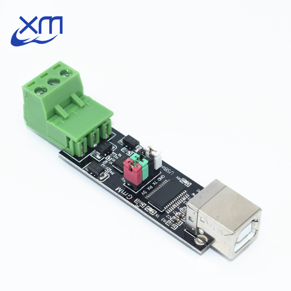 I03 1pcs Double Protection USB to 485 Module FT232 Chip USB to TTL/RS485 Double Function