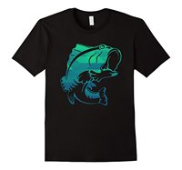 Fisher T Shirt Bass Fish Tee T Shirts Casual Short Sleeve For Men Clothing Summer Great
