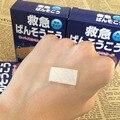 100 Pcs Respirável Curativos de Primeiros Socorros Band-aid Hemostasia Ferida Adesiva Curativos Cole Médica Gaze Tiras de Gesso C732