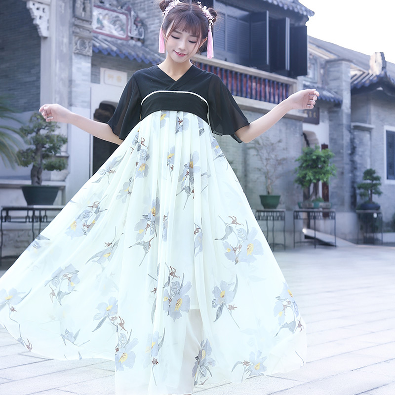 b20555a95 Traditional Chinese Beautiful Dance Hanfu Dress Chinese Dynasty Costume  Ancient Chinese Tang Costume Cantonese Dresses