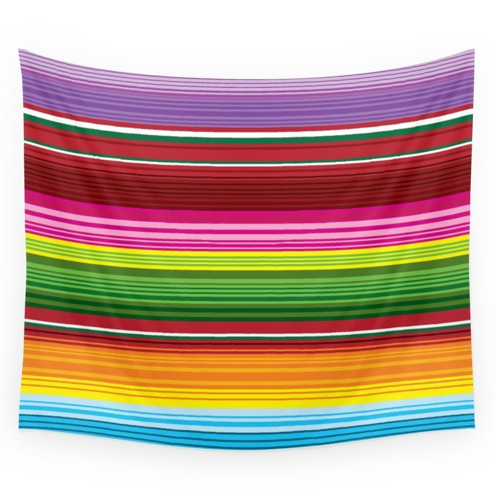 Mexican Blanket - Rainbow Wall Tapestry Wedding Party Gift Bedspread Beach Towel Yoga Picnic Mat