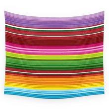 Мексиканско одеяло - Rainbow Wall Tapestry Сватбен подарък Покривало за плажна кърпа Yoga Picnic Мат
