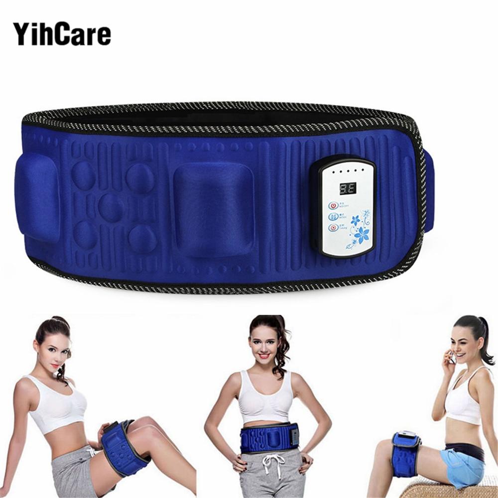 YihCare Electronic Body Slimming Massage Belt Gymnic Muscle Exercise Arm Leg Waist Vibration Weight Loss Electric Massager Belts