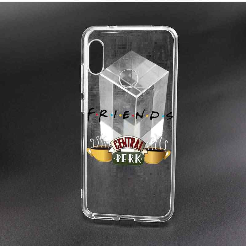 Teman-teman Bersama-sama Panas Lembut untuk Xiao Mi Merah Mi Pergi A2 Lite 6A S2 Note 7 6 PRO 5 4X plus Mi Bermain A3 8 Lite A1 5X 6X F1 TPU Phone Case