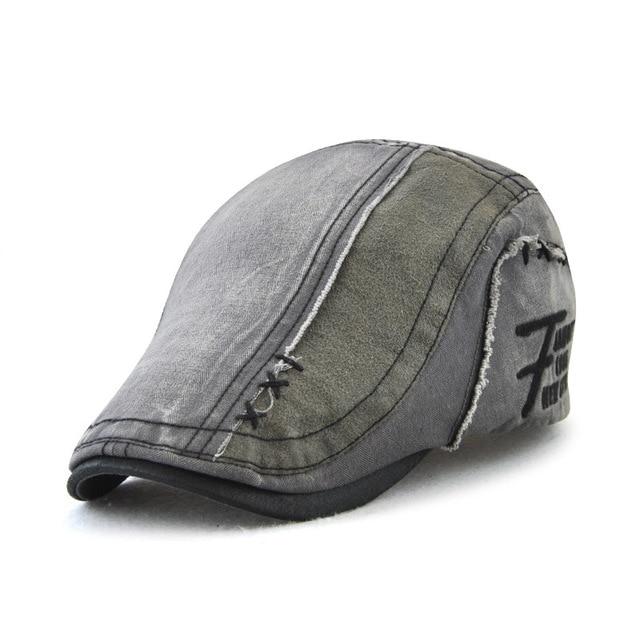 Vintage Men Fashion Beret Hat Casquette Cap British Style Cotton Hats for Men Sun Gorras Planas Flat Caps Streetwear