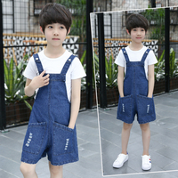 Baby Boy Summer Set 2019 Toddler Boy Clothes Size 3 4 5 7 9 10 12 Year Teemage Baby Boy Korean Kids Clothes White Shirt + Jeans