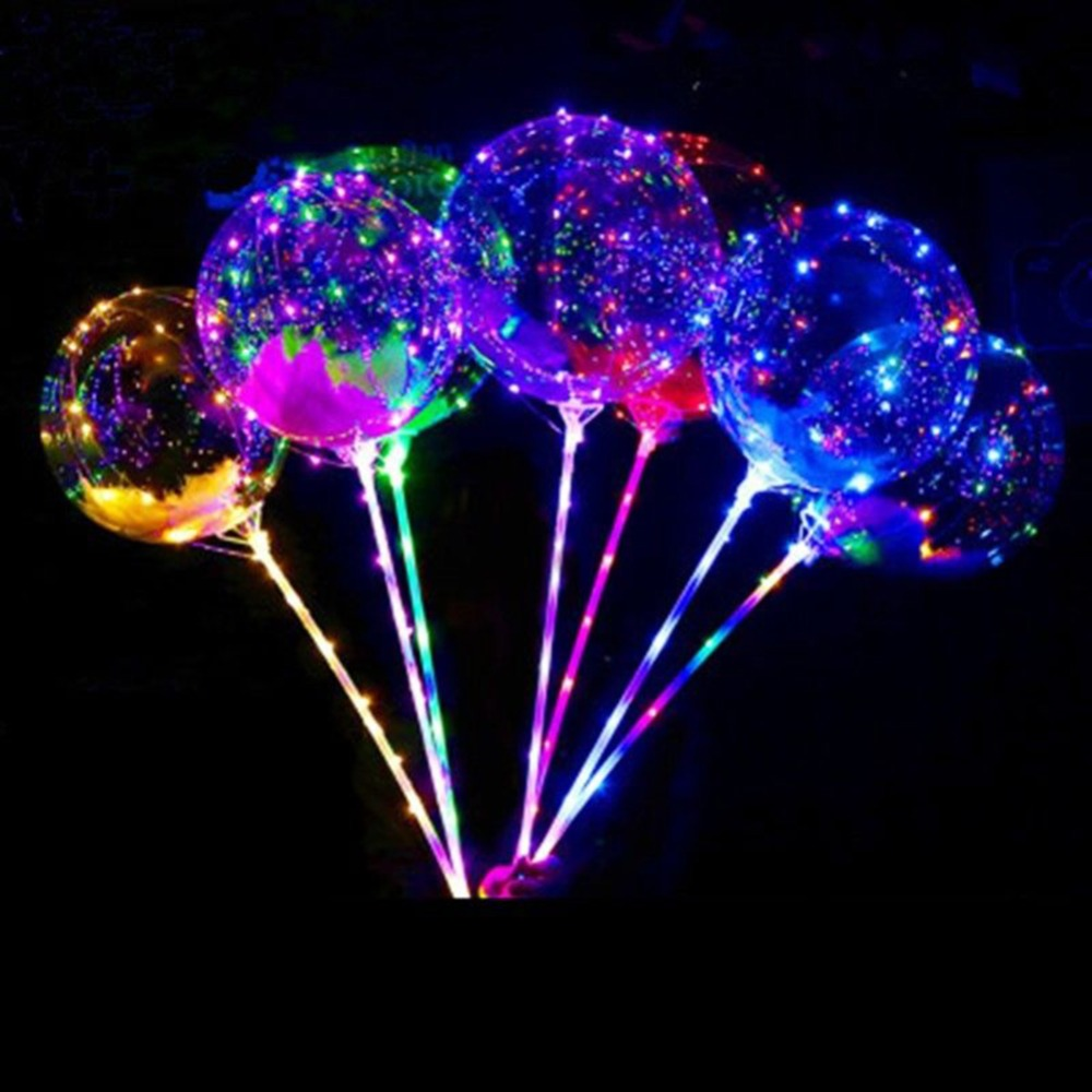 hot sale led christmas light latex balloon wedding party strings decor with handled stick. Black Bedroom Furniture Sets. Home Design Ideas