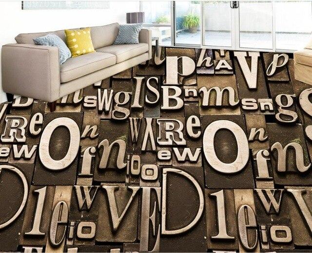 3d personalizzato pavimenti in carta da parati per camera da letto ...