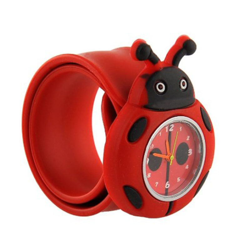 2017 New Trendy Nice Cartoon-watches Children Girl Kid Quartz-watch Sport Bendable Rubber Strap Wrist Watch P20 Watches