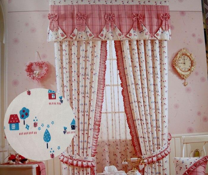 Estilo rural xd dormitorio del sitio de ni os cortina for Cortinas para dormitorios de ninos