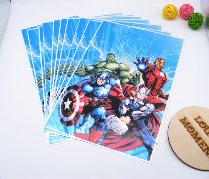 20 X супергероя мешок подарка на день рождения для детей вечерние подарки вечерние пользу Аксессуары