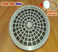 Filtre à gaz 7702 A8 formulé charbon actif cartucho de gaz contre la peinture en aérosol pesticide boîte de filtre à gaz toxique box box boxe active box filter -