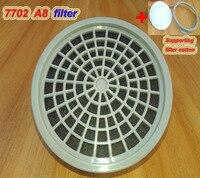 Filtro de máscara de Gas 7702 A8 de carbón activado para pintura en aerosol  caja de filtro de gas tóxico para pesticida box box boxe active box filter -