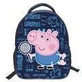 Cute Pink Pigs Mochila Niños Mochila Animales de Dibujos Animados de La Escuela Bolsa de Libros Para Niños Girls Boy Mochila Mochila de 14 Pulgadas
