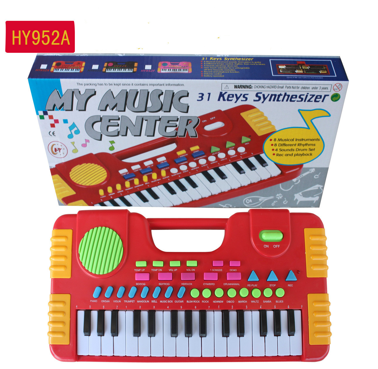 31 Keys Kids Baby Musical Toys Children Musical Portable Instrument Electronic Piano keyboard Educational Toys For Girl