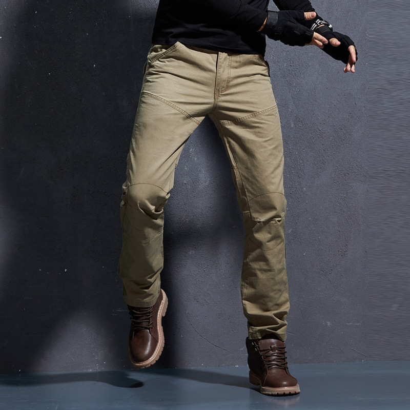 2020 New Military Cargo Pants Men Cotton Casual Slim Tactical Mens Trousers Workout Man Overalls High Quality