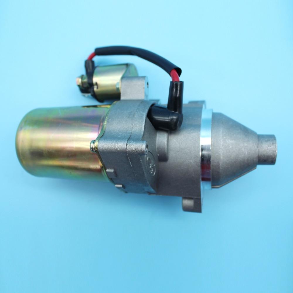 Tools : Starter Motor w  Solenoid Assy Kit For HONDA GX340 11HP GX390 13HP GX 340 390 Small Engine Motor 31210-ZE3-013   31210-ZE3-023