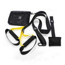 Suspension Trainer Basic Kit + Door Anchor, Body Workouts Kit for Home and on the Road