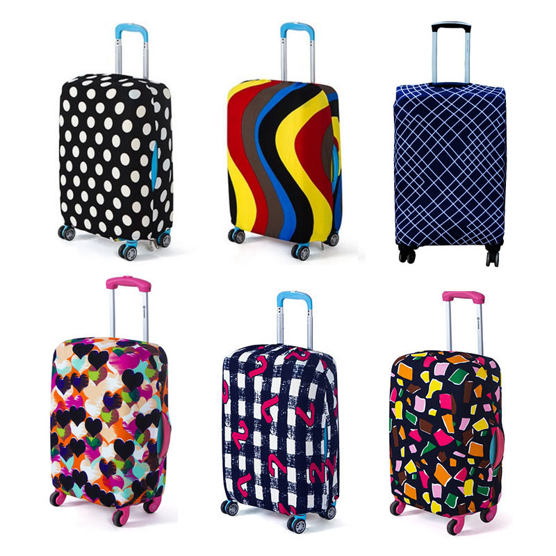 Travel On Road Luggage Cover Protective Suitcase Cover Trolley Case Travel Luggage Dust Cover For 18 To 28 Inch все цены